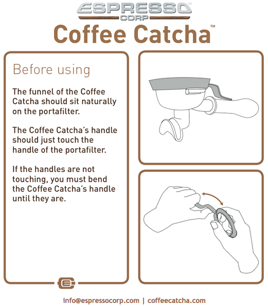 Coffee Catcha Before Using