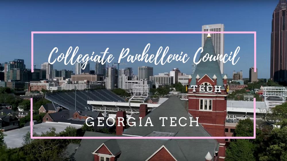 Formal Recruitment Georgia Tech Collegiate Panhellenic Council