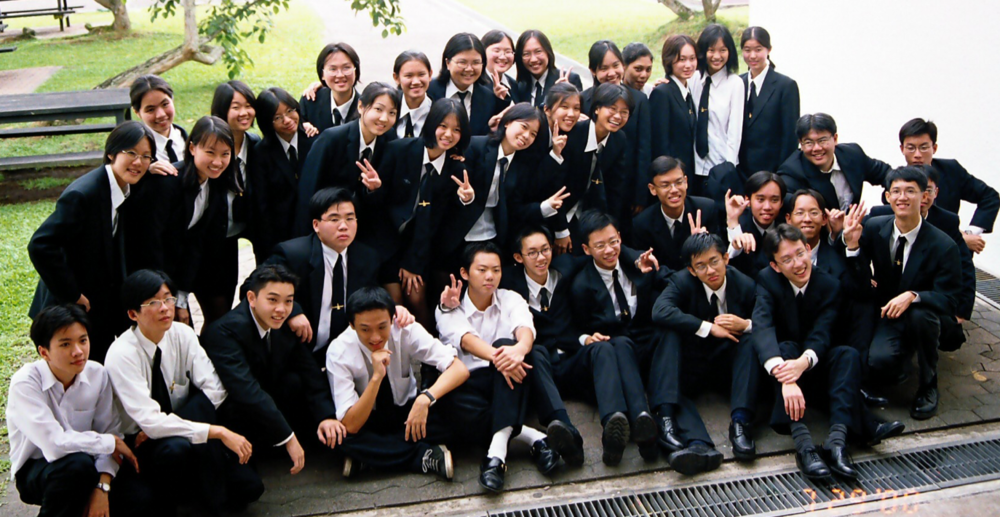 RJCSB Graduating Batch of 2000