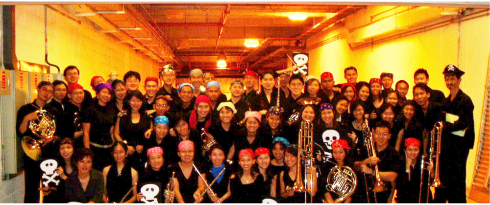 """Pirates of the Caribbean"" guest-played by RWinds at RJCSB's ""A Tempo XIV"" concert in 2005."