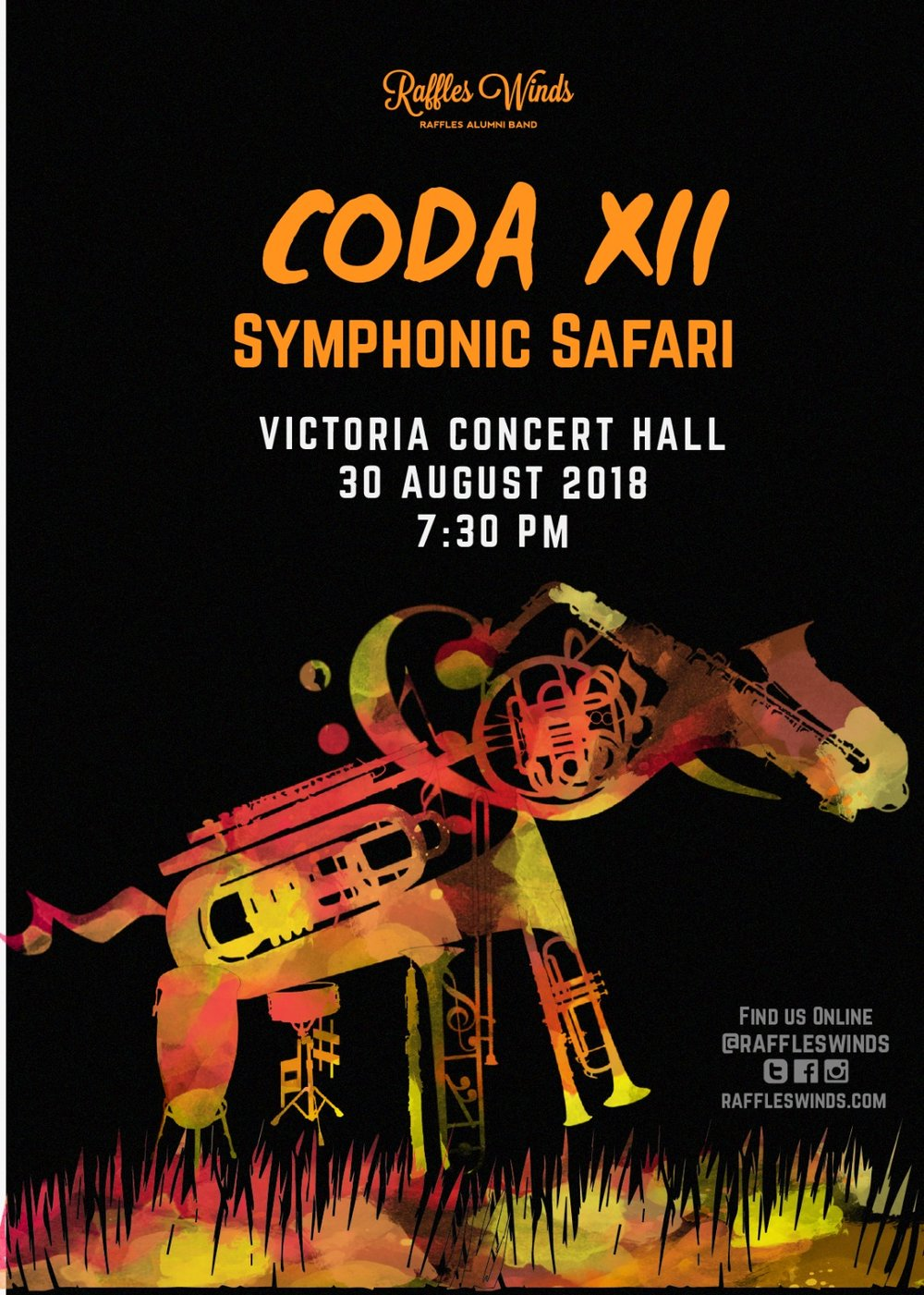Coda XII poster