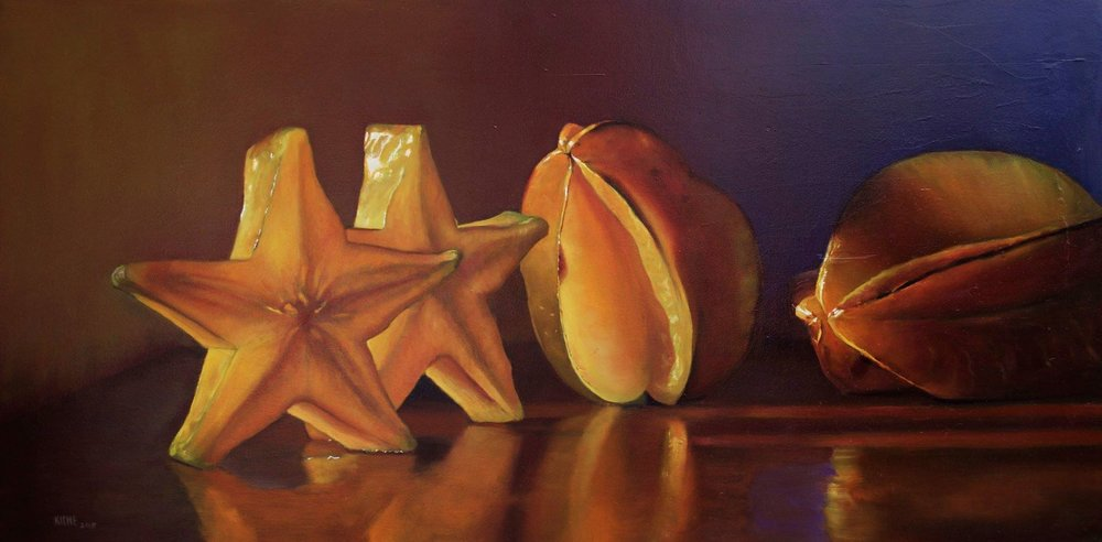 starfruit  24 x 48  oil