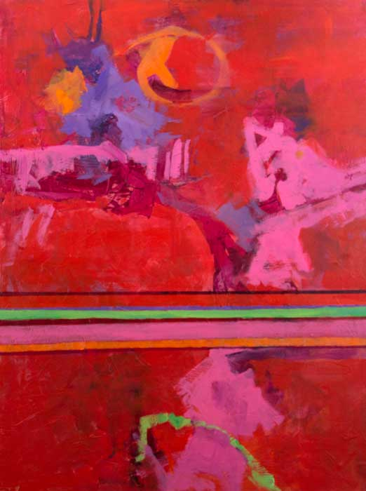 Yes-It's-Pink-acrylic-canvas-40x30x1.5-copyright-Cheryl-D-McClure.jpg
