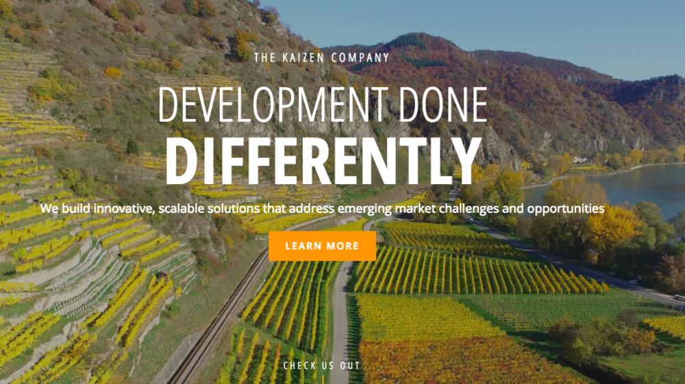 Website UX: Kaizen Company
