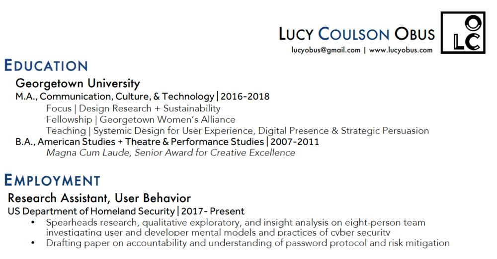 Lucy Obus_Resume