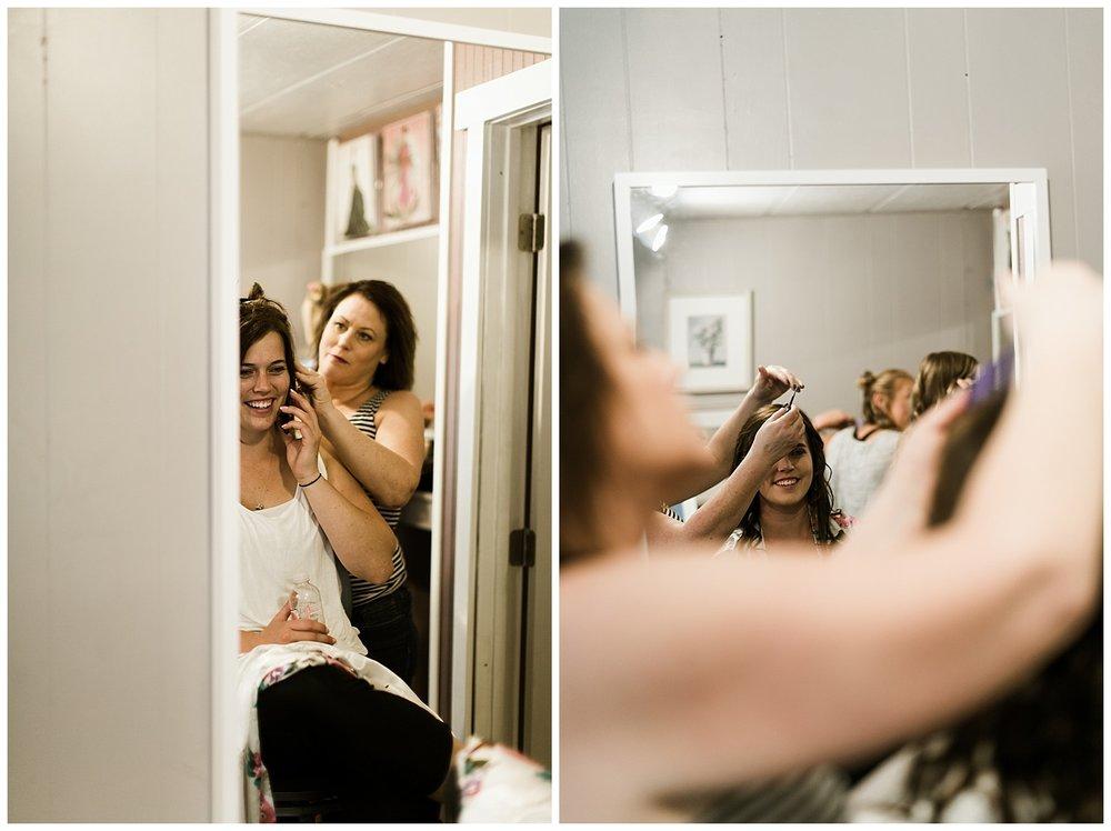 Rustic Chic Wedding | bridal details | PNW wedding photographer