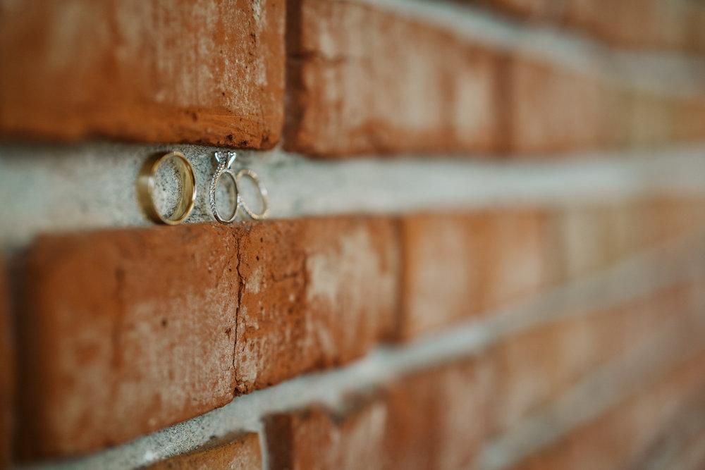 Intimate Winter Wedding | Ring shot ideas | Seattle wedding photographer