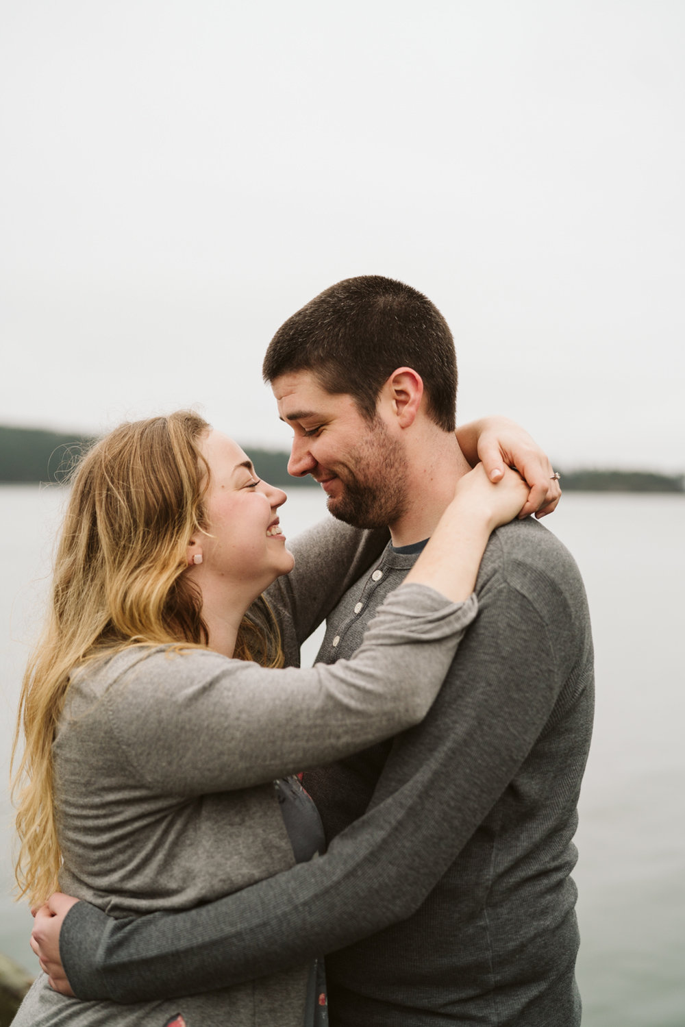 Deception Pass Engagement Session | Engagement sessions with dogs | Seattle wedding photographer