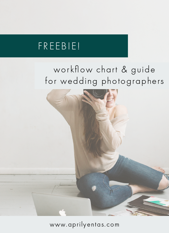 wedding photographer workflow | free resources for wedding photographers