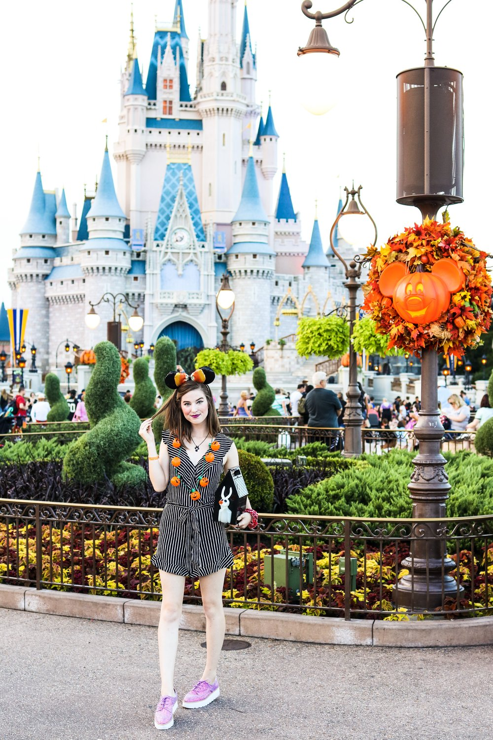 not so scary halloween in magic kingdom styled by magic