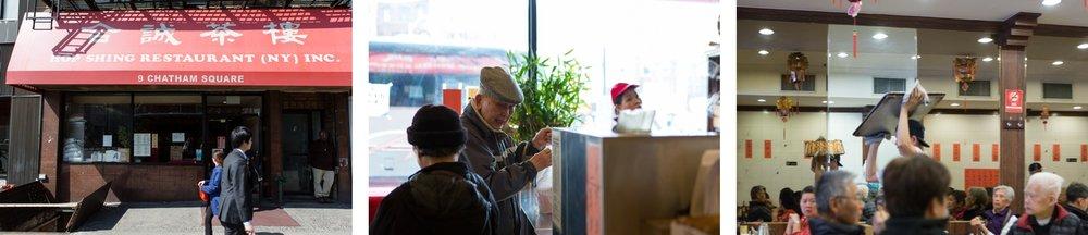 Hop Shing Restaurant in Manhattan's Chinatown