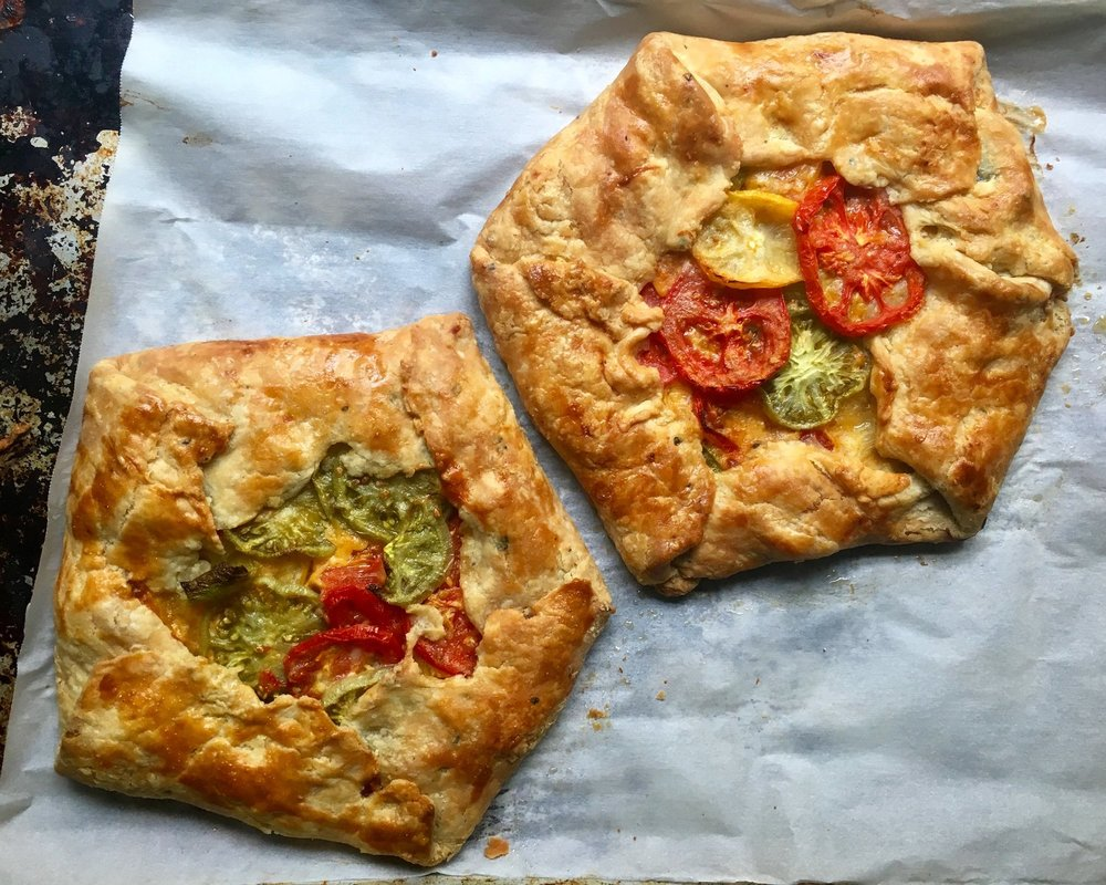 Copy of Tomato Cheddar Galette