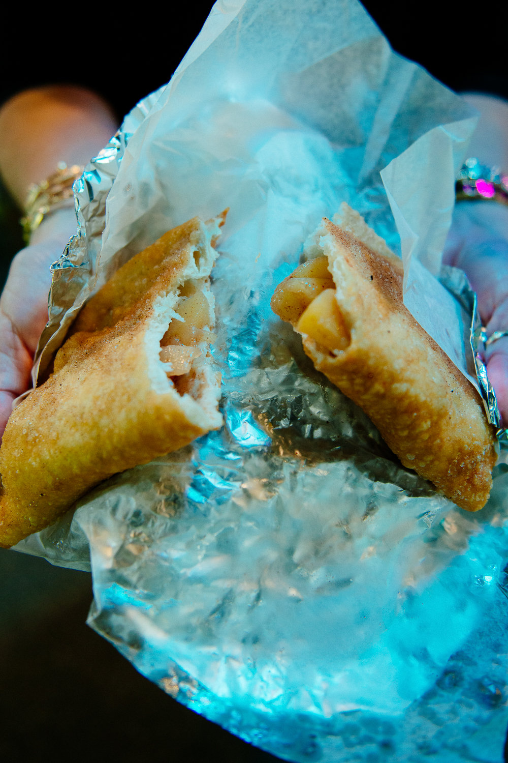 Delicious Apple Jack fair hand pies