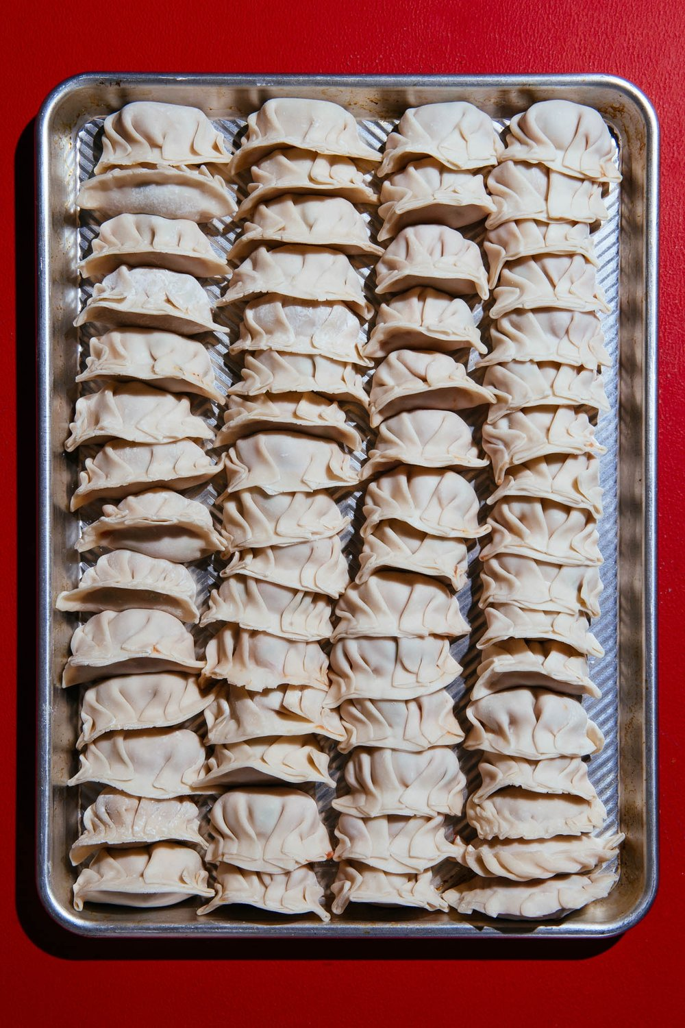 Lunar New Year Pork and Shrimp Dumplings