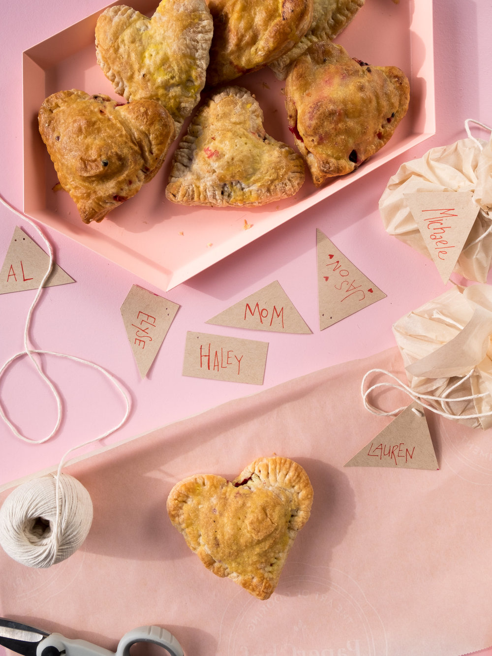 Savory Heart-Shaped Hand Pies for Valentine's Day