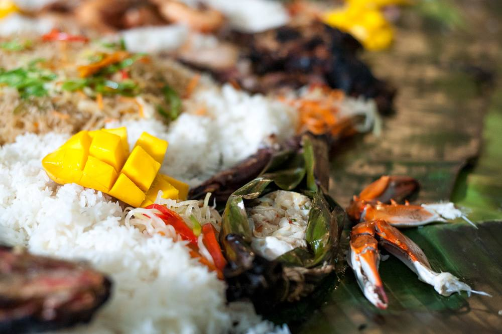 Filipino Style Boodle Fight in Austin, TX
