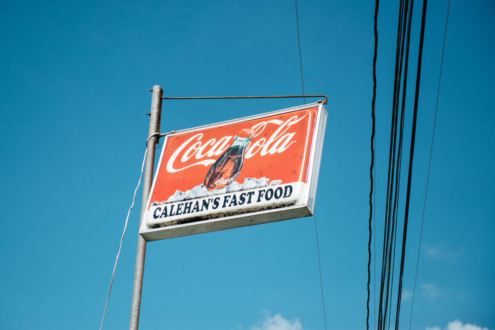 Calehan's Fast Food in Belmopan, Belize