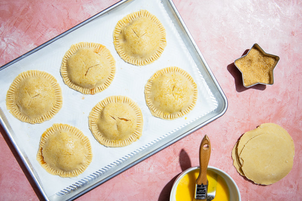 Gluten-Free Peach Hand Pies