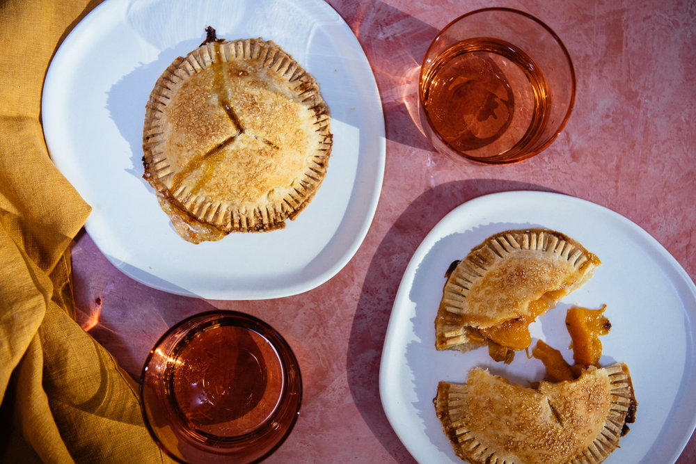 Peach & Cardamom Hand Pies