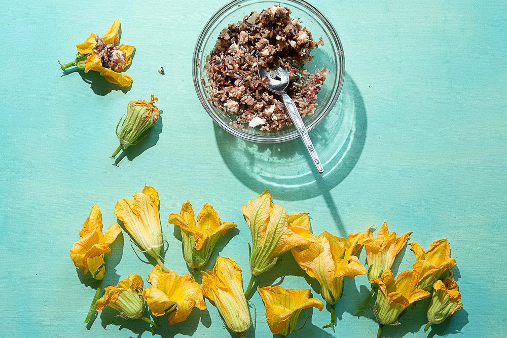 Tiny Turnips Kitchen Squash Blossoms