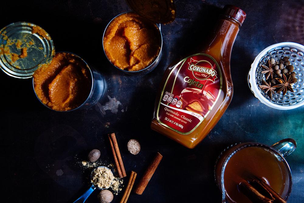 pumpkin and cajeta empanadas | empanadas de calabaza y cajeta