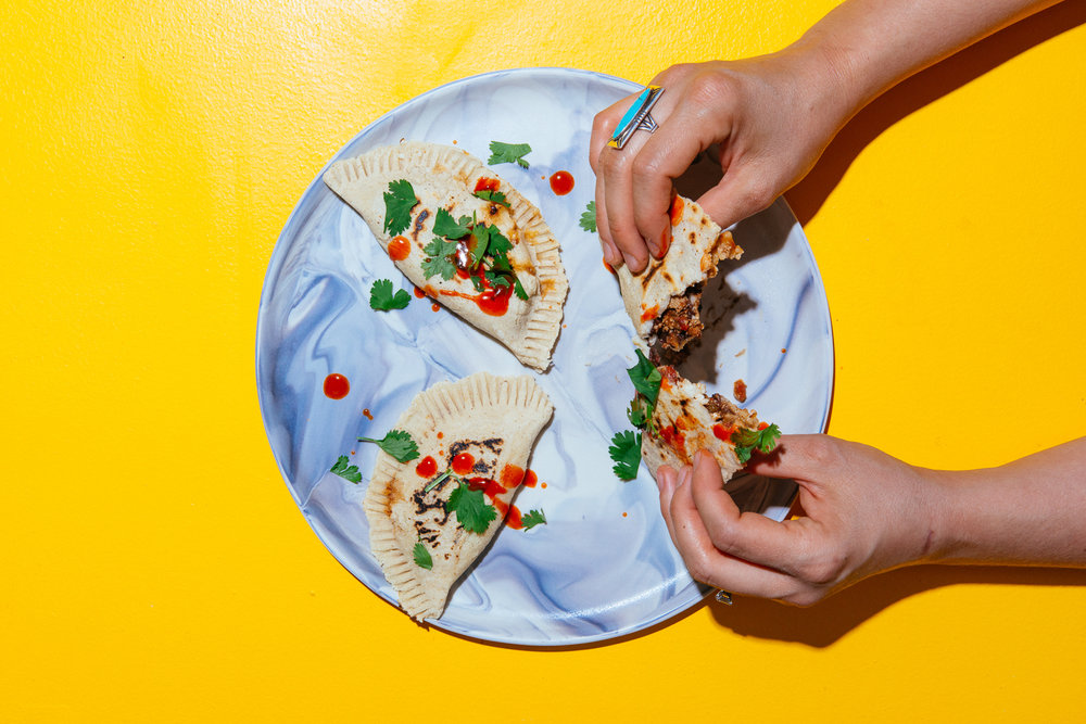 The World In A Pocket's Best of 2018, Turkey Taco Empanadas, by Lauren V. Allen