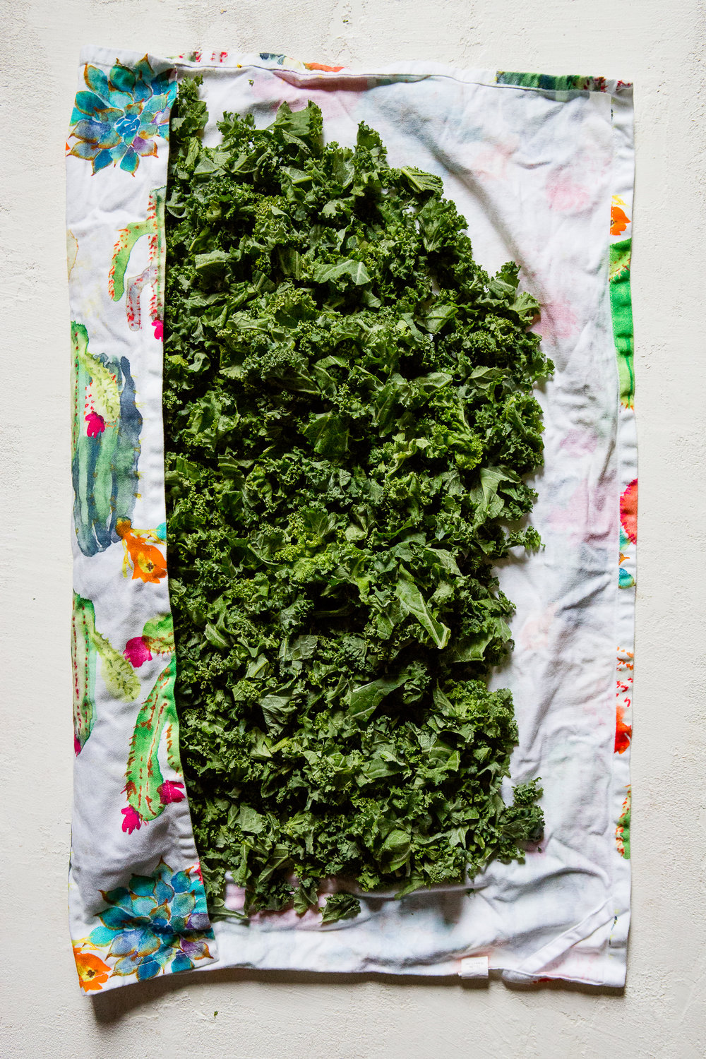 How to store fresh kale