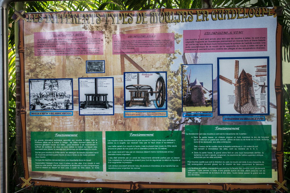 Different types of Mills in Guadeloupe