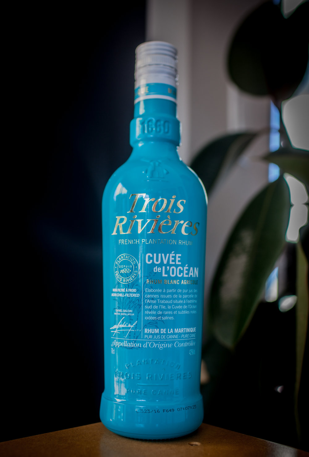 Trois Rivières did it first: Cuvée de l'Océan is a parcel specific rhum.