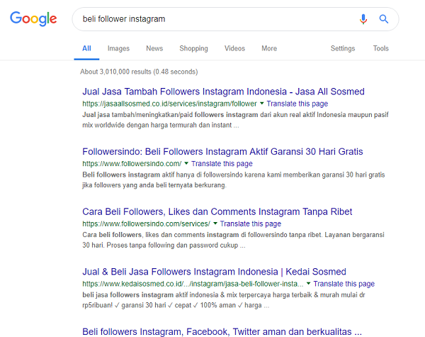 Jasa Followers Instagram Indonesia - Skrewofficial com
