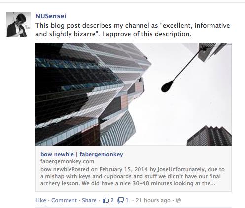 Facebook-NUSensei