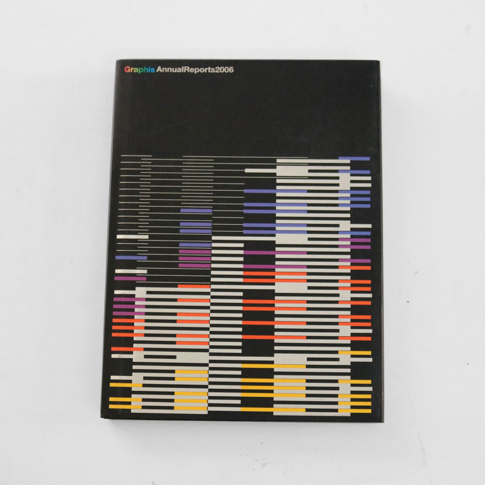 Graphis Annual Reports 2006 (Hardcover)  A compendium of award-winning and notable annual report designs - grab it for some retro design inspo!