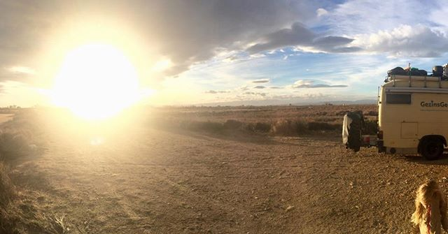 Hello Ebre Delta Spain!#vanlife #campervan #gezinsgelukopreis
