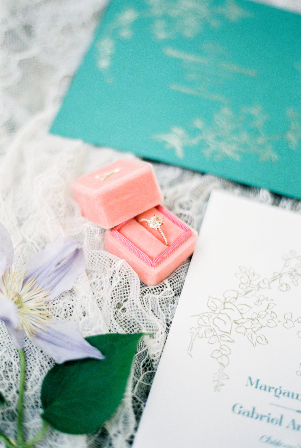 Susie Saltzman Rose Gold Ring - Jacqueline Anne Photography - Nova Scotia Wedding Photographer