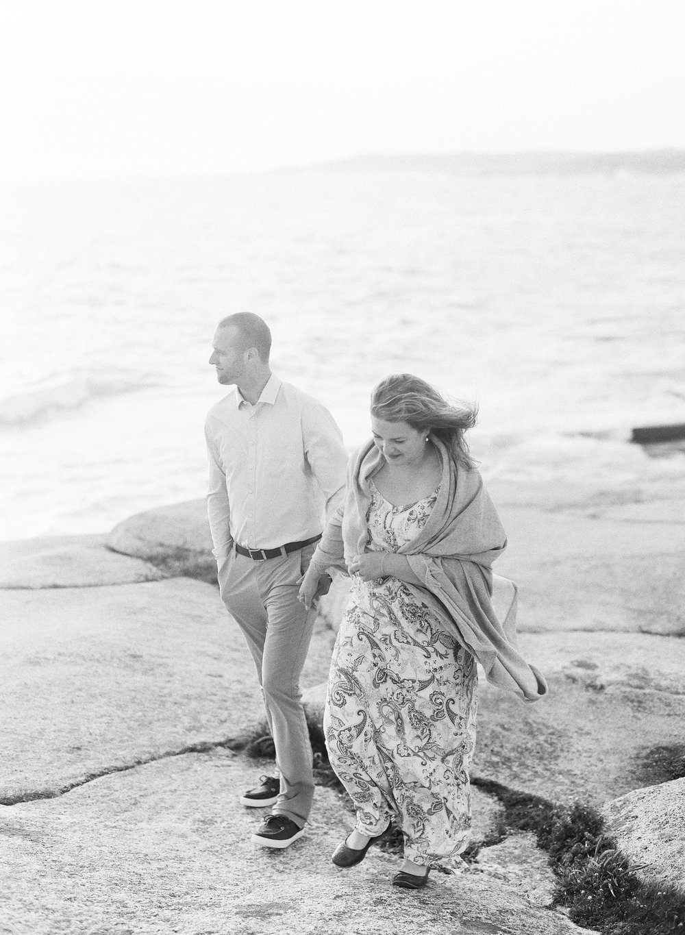 Jacqueline Anne Photography - Alex and Andrew Engagement at Peggy's Cove - Halifax-98.jpg