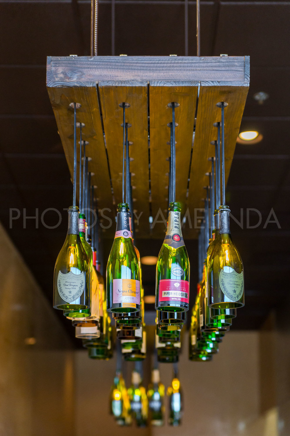 Champagne Chandelier