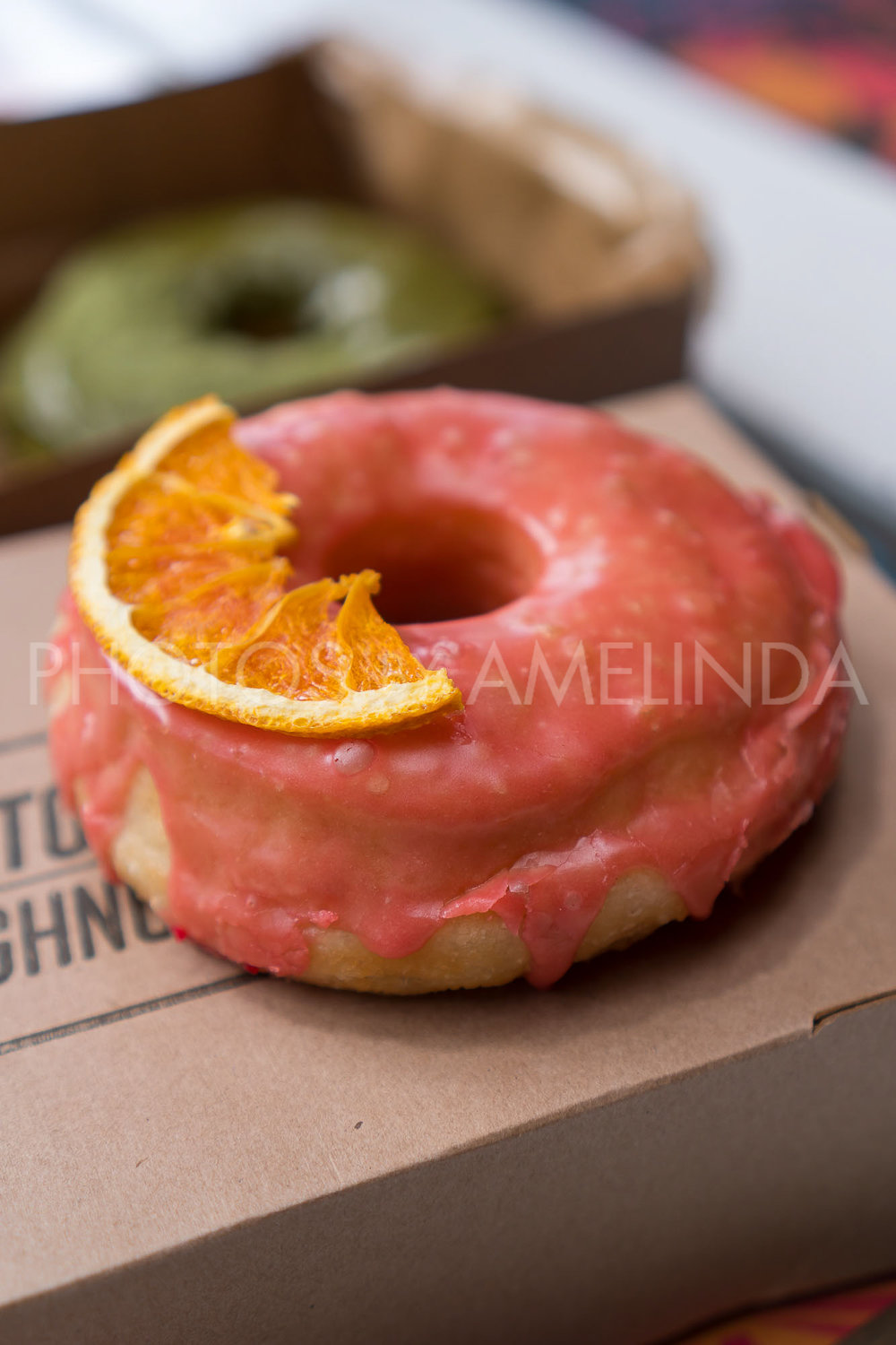 Blood Orange Donut