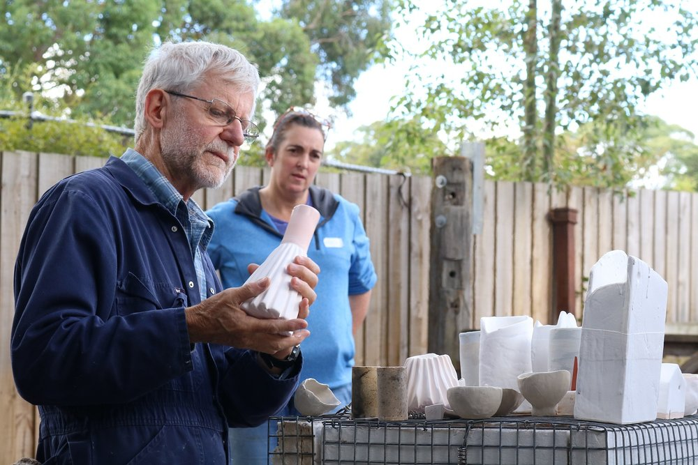 Kevin Boyd Workshop: Raku Glazing and Firing, Skepsi @ Montsalvat, April 2017
