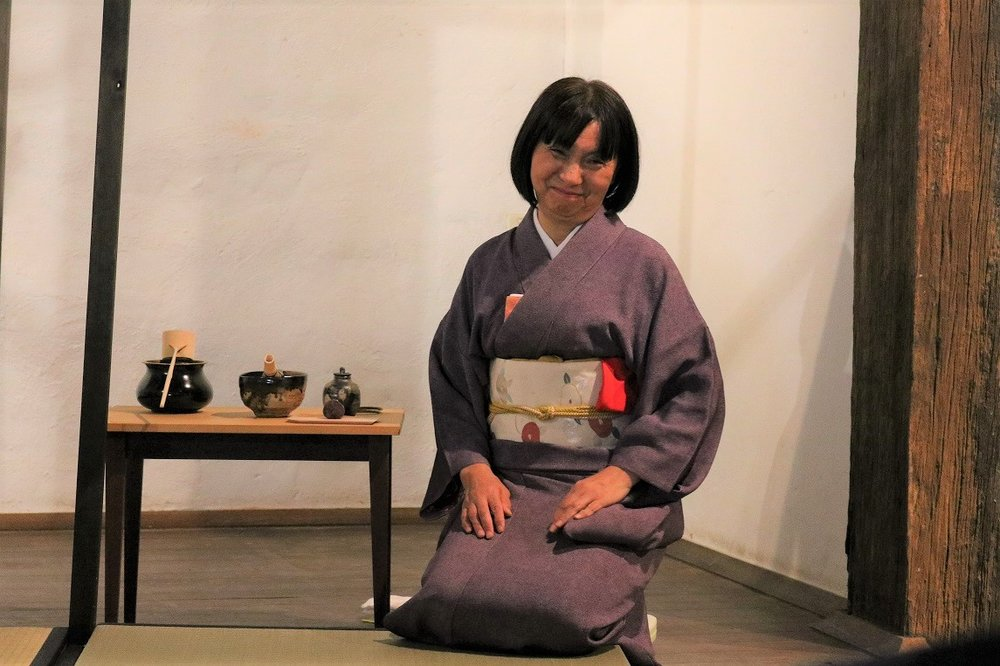 Special Presentation of the traditional Japanese Tea Ceremony by Yuko Jensen, Skepsi @ Montsalvat, April 2017