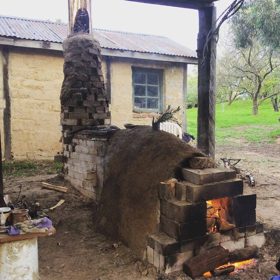 Kirk Winter & Yuri Wiedenhofer: Wood Fire Kiln Building and Firing Workshop, Skepsi @ Montsalvat, May 2016