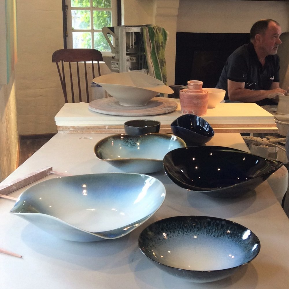 Brian Keyte: Foundation Techniques in Ceramics Workshop, Skepsi @ Montsalvat, May 2016