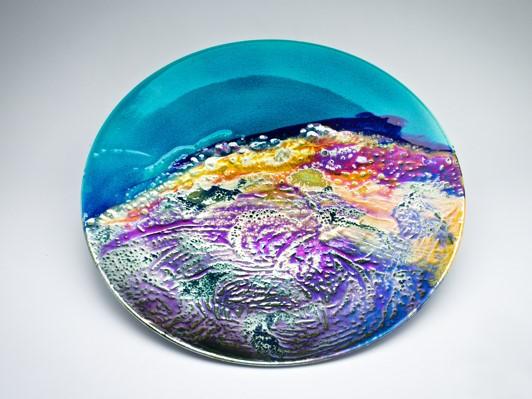 Rolling Storm, lustre glazed ceramic work, H4.4 x W57cm.jpg