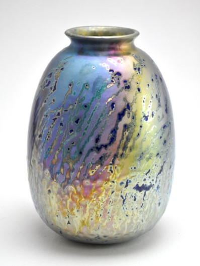46. Night Light Through Spear Grass, lustre glazed ceramic work, H30 x W19cm.jpg
