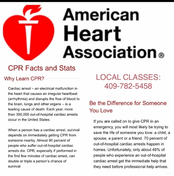 Cpr First Aid Training Southeast Texas
