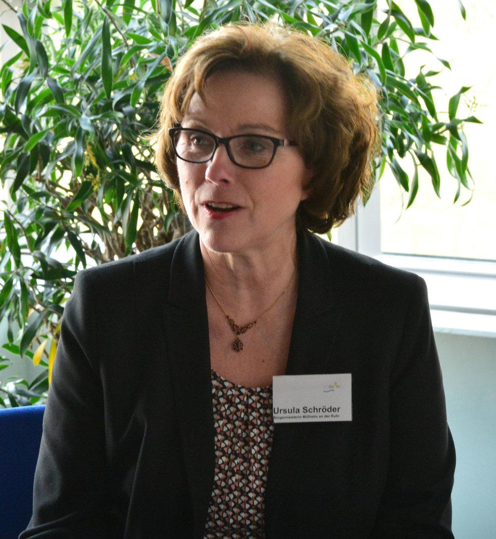 """Bürgermeisterin Ursula Schröder lobte das Engagement der Mülheimerinnen und Mülheimer: """"Die Übernahme von Verantwortung zeigt nachhaltig Wirkung."""""""