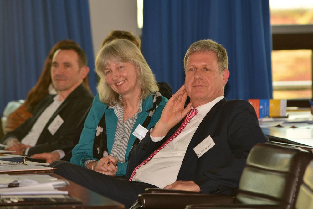 Unter den Teilnehmenden war auch Gerhard Odenkirchen vom Ministerium für Umwelt, Landwirtschaft, Natur- und Verbraucherschutz des Landes Nordrhein-Westfalen.