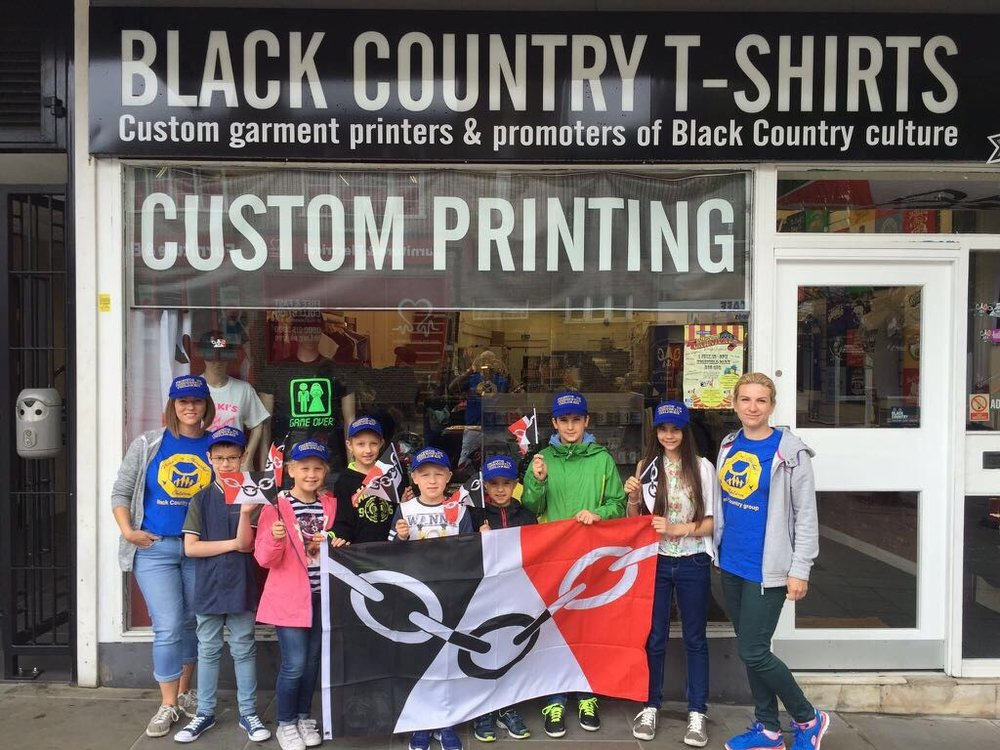 Black Country T-Shirts designed and printed our amazing hats and t-shirts. Thank you