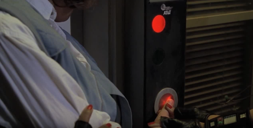 Back to the future finger print scanner