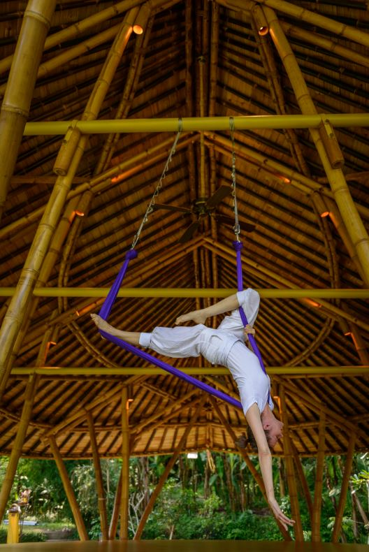 Anti Gravity Yoga - Four Seasons Bali Sayan