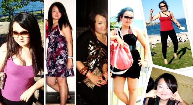What 12kgs of weight gain in a year looks like.